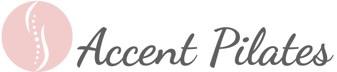 accent pilates studio logo